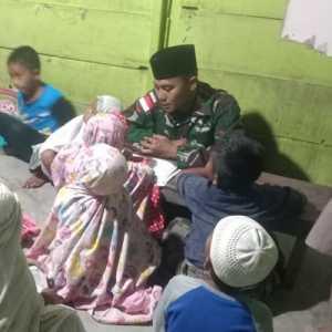Selain Jago Perang, Prajurit TNI Di Perbatasan Juga Harus Bisa Ngajar Ngaji