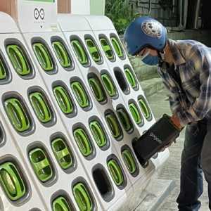 Skuter Impian Taiwan Dengan Baterai Isi Ulang, Tidak Sampai Satu Menit!