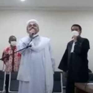 Sidang Pembacaan Eksepsi Habib Rizieq Bakal Digelar Virtual