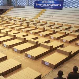 Lebih Dari 290 Tahanan Migran Terpapar Covid-19, Thailand Dirikan Rumah Sakit Lapangan
