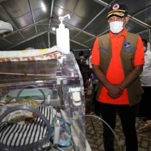 Kunker Ke Mamuju, Doni Monardo Serahkan Alat Dukung RS Darurat Lapangan Senilai RP 4 Miliar
