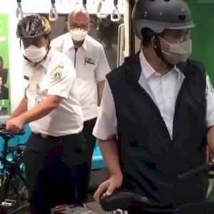 Naik MRT Kini Boleh Bawa Sepeda, Wagub DKI: Sudah Diatur, Tak Akan Mengganggu