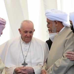 Bertemu Ulama Syiah Irak Dan Kunjungi Tempat Kelahiran Nabi Ibrahim, Paus Berterima Kasih Kepada Umat Muslim