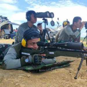 Cetak Sniper Terbaik, Yontaifib TNI AL Gelar Latihan Menembak