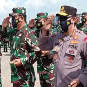 Panglima TNI Dan Kapolri Lepas Pasukan Perdamaian PBB Ke Lebanon
