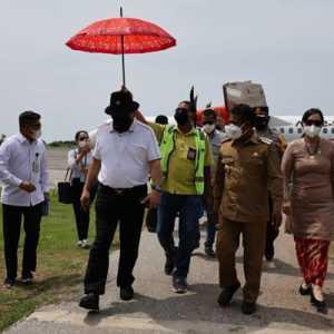 Penerbangan Kupang-Alor Diluncurkan, Ketua DPD Berharap Perekonomian Dan Pariwisata NTT Makin Lancar