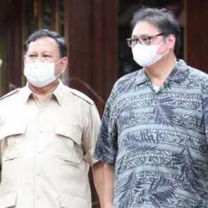 Pertemuan Airlangga-Prabowo Bisa Wujudkan Koalisi Besar Di 2024