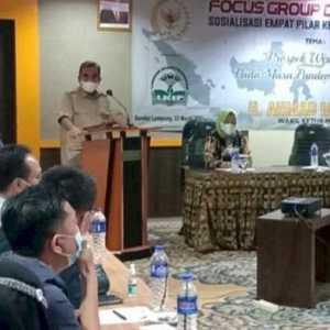 Hadir Di Lampung, Ahmad Muzani Tampung Aspirasi Pelaku Usaha Di Masa Pandemi Covid-19