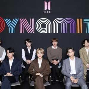 Megahit Dynamite Milik Boyband Korea BTS Raih Double Platinum Di Amerika Serikat