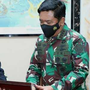 Marsekal Hadi Terima Kunjungan Letjen Suryo Prabowo