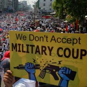 Warga Myanmar Khawatir Junta Gunakan Teknologi AI Untuk Awasi Demonstran