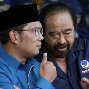 Nasdem Makin Terang-terangan, Bidik Ridwan Kamil Jadi Capres 2024