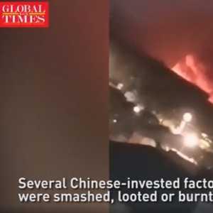 Sejumlah Pabrik Milik China Di Myanmar Jadi Sasaran Pengrusakan Dan Pembakaran, Diduga Ada Sentimen Anti-China