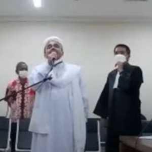 Sidang Lajutan Habib Rizieq, 1.394 Personel Siaga Di PN Jaktim