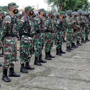 Jelang Putusan MK, Ratusan TNI-Polri Siaga Amankan Kamtibmas Boven Digoel