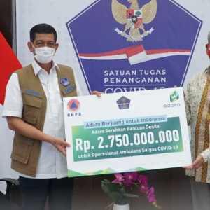 Bantu Penanganan Covid-19, Adaro Salurkan Bantuan Rp 2,75 Miliar Ke Satgas Covid-19