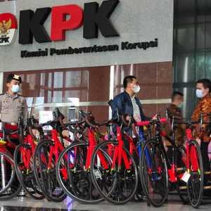 13 Sepeda Tiba Di Gedung KPK, Barang Bukti Kasus Edhy Prabowo?