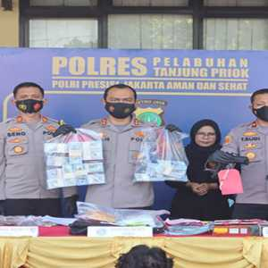 Polres Pelabuhan Tanjung Priok Gulung Sindikat Pengedar Dollar Palsu Senilai Rp 3 Miliar