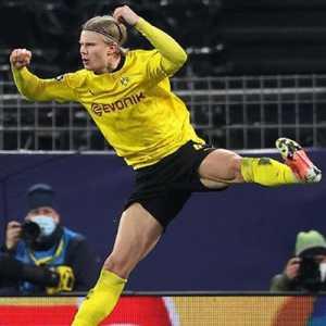 Bawa Dortmund Ke Perempat Final, Haaland Torehkan 3 Catatan Bersejarah