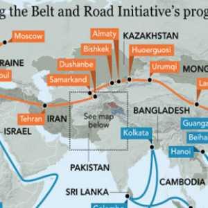 Jalur Sutra Baru Di Timur Tengah