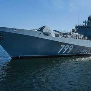 Fregat Admiral Grigorovich Rusia Tiba Di Sudan, Siap Dirikan Pangkalan Di Pantai Laut Merah