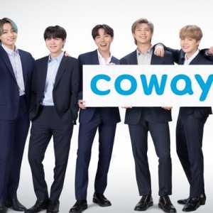 Coway Tunjuk Boyband BTS Sebagai Brand Ambassador Terbaru