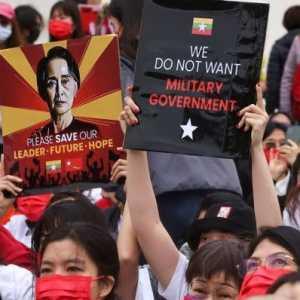 Ikut AS, Inggris Layangkan Sanksi Ke Dua Perusahaan Yang Dikontrol Militer Myanmar