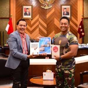 Bertemu KSAD, Chappy Hakim Bahas Peningkatan Kualitas Perwira TNI