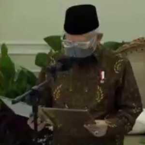 Lantik Pengurus MES, Wapres Maruf: Selamat, Semoga Dapat Antarkan Kejayaan Ekonomi Syariah Di Indonesia