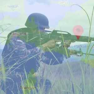 Kontak Tembak Di Sugapa, Satu Anggota KSB Tewas