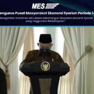 Punya Visi Misi Yang Sama Dengan KNKES, Maruf Amin Berharap Banyak Ke Erick Thohir Dan Pengurus Pusat MES 2021-2024