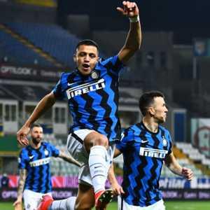 Cetak Brace Ke Gawang Parma, Alexis Kirim Sinyal Ancaman Bagi Lukaku