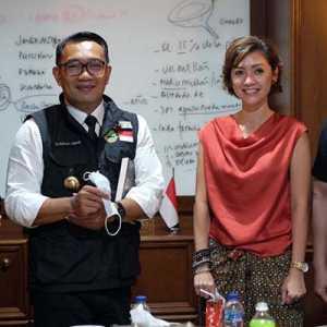 Disambangi Ridwan Kamil, Diaz Hendropriyono: Kang Emil Adalah Imam Yang Luar Biasa