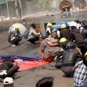 Kekerasan Di Myanmar, Jumlah Korban Tewas Bertambah Hingga 320 Orang