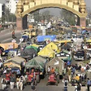 Menandai Hari Ke-100 Aksi Protes, Petani India Blokir Enam Ruas Jalan Tol