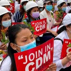 Gerakan Pembangkangan Sipil Myanmar Dinominasikan Sebagai Penerima Hadiah Nobel 2022