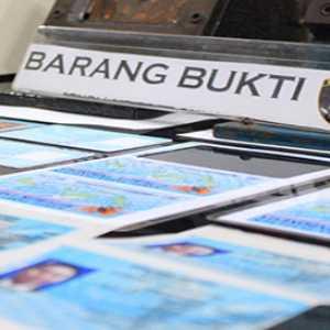 Polres Pelabuhan Tanjung Priok Tangkap Pelaku Pemalsuan KTP-EL Untuk Kejahatan