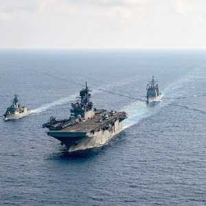 Kapal Perang Jerman Akan Berlayar Melalui Laut China Selatan