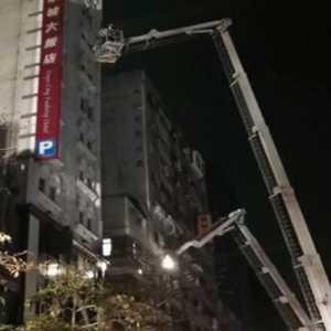 Hotel Karantina Terbakar Di Taiwan, 51 Pasien Berhasil Dievakuasi