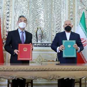 China-Iran Sepakati Kemitraan Strategis Komprehensif, Hegemoni AS Berakhir?