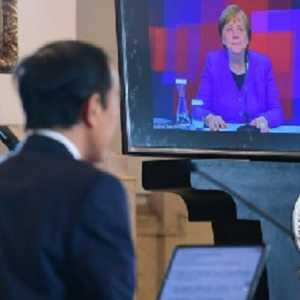 Jokowi Dan Angela Merkel Resmikan 'Hannover Messe 2021' Dengan Tema 'Making Indonesia 4.0'