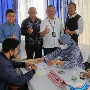 Pacu Realisasi Kredit, Kacab BTN Bogor Akad Massal 600 Unit KPR