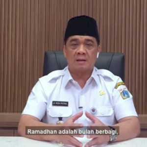 Wagub DKI: Ramadan Momentum Berbagai Kepedulian