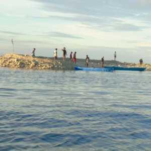 Siklon Seroja Reda, Pulau Baru Tercipta