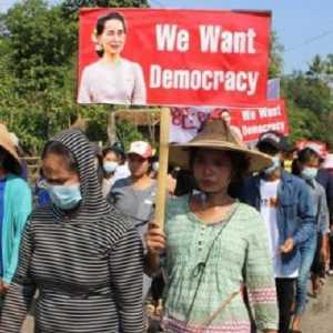 Rusia Dan China Jadi Penghambat Penanganan Kudeta Militer Myanmar
