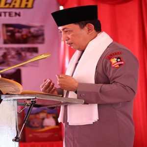 Sambil Bernostalgia Dengan Ulama, Jenderal Sigit Resmikan Ponpes Tajul Falah Banten