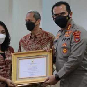 Terima Penghargaan Menteri PPPA, Polda NTB: Berkat Kerja Kolektif