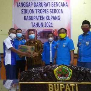 Haris Pertama Berharap Bantuan KNPI Bisa Ringankan Beban Warga Kupang