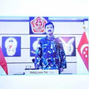 Panglima TNI: Kerjasama Pertahanan Indonesia-Singapura Perlu Tetap Dijaga