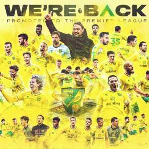 Cukup Setahun Di Championship, Musim Depan Norwich Balik Ke Premier League